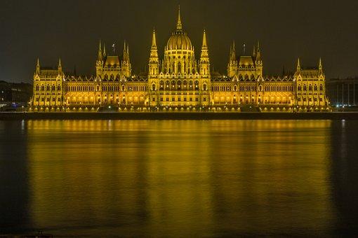 Budapest, Danube, Parliament