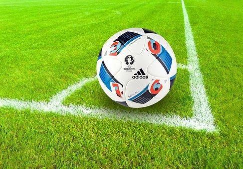 Football, Playing Field, Corner, Eckpunkt