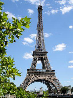 Paris, Eiffel Tower, Tower, Architecture