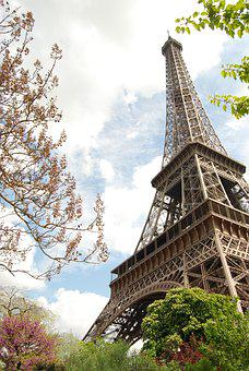 Paris, Eiffel Tower, Monuments, France, Capital