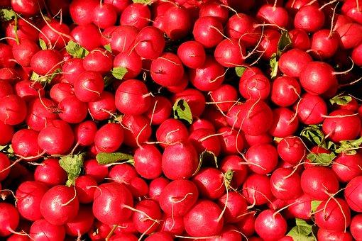 Radishes, Radish, Vegetables, Food, Eat