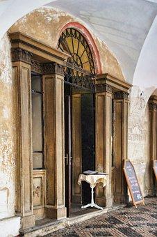 Input, Bowever, Prague, Antique, Alley, Archway, Gable