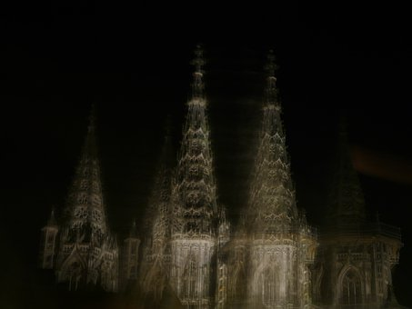 Ulm Cathedral, Wobbles, Spooky, Ghostly, Mystery