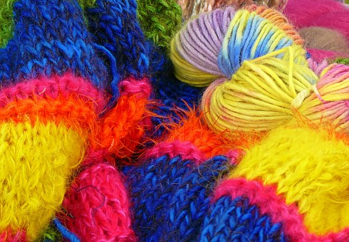 Wool, Knitting Wool, Hand Labor, Cat's Cradle, Knit