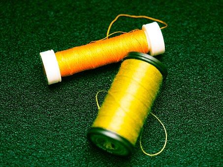 Yarn, Bobbin, Sew, Thread, Sewing Thread, Haberdashery