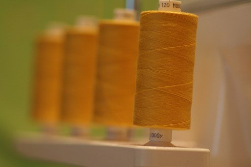 Thread, Spool, Sewing, Overlocker, Cotton, Polyester