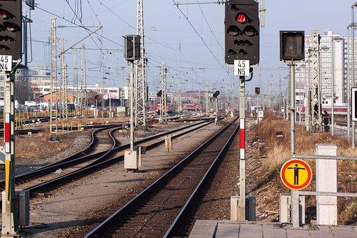 Signal, Stop, S Bahn, Tracks, Track