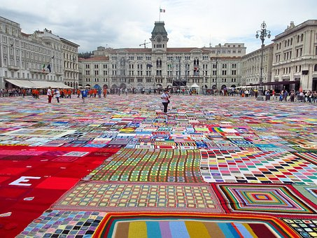 Italy, Trieste, Europe, Carpet, Knits, Diy, Handmade