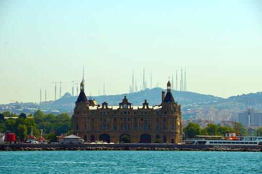 Istanbul, Sea, Cityscape, Tourism, Europe, Famous