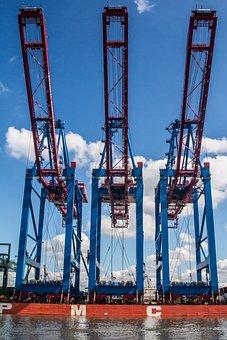 Port, Container, Hamburg, Container Terminal