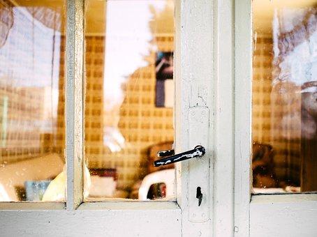 Glass, Door, Knob, Frame, Window, Glass Door, Interior