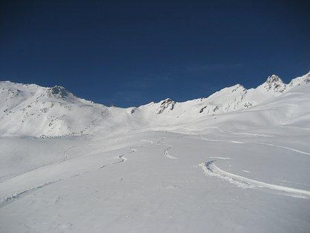 Sölden, Winter, Winter Sports, Snowboard, Ski, Mountain