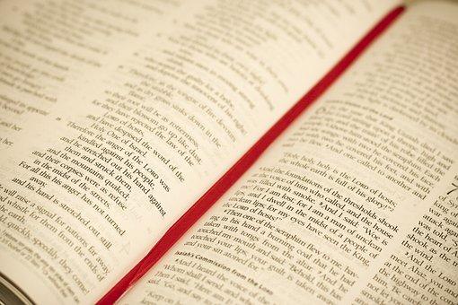 Bible, Scripture, Open, Holy, Book, Religion, Religious