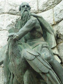 San Juan, Evangelist, Sculpture, Statue