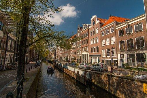 Amsterdam, Channel, Netherlands, Waterway, Dutch