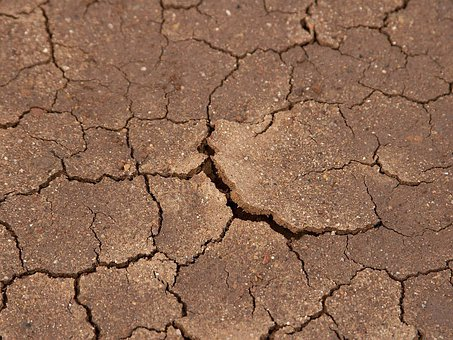 Earth, Dry, Dehydrated, Desert, Cracks, Drought