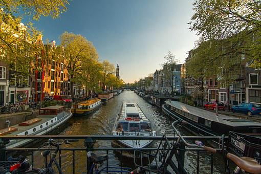 Amsterdam, Channel, Netherlands, Waterway, Dutch