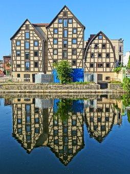 Bydgoszcz, Waterfront, House, Timber Framing