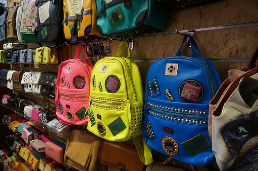 Commodity, Cupboard, Backpack, Color, Youth, Shop