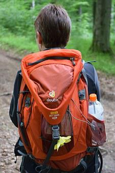 Hiking Backpack, Hiking, Nature, Deuter, Water Bottle