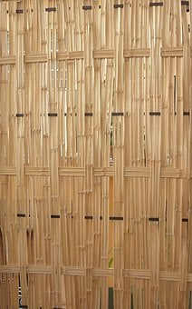 Bamboo, Wooden, Walls, Fences, Crafts, Crafting, Reeds