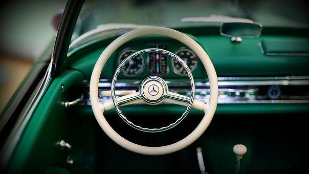 Car, Interior, Vehicle, Automobile, Dashboard, Steering
