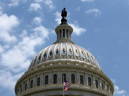 Building, Washington, Usa, Capitol, Politics, Reign