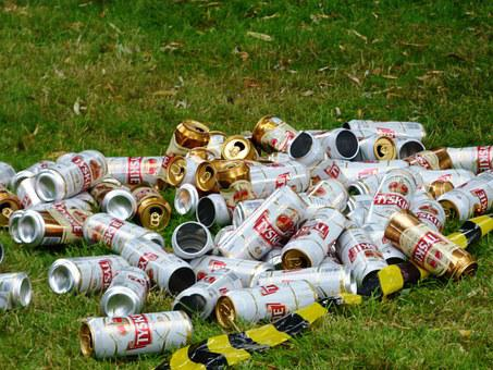 Cans, Garbage, Rubbish, Litter, The Purity Of The