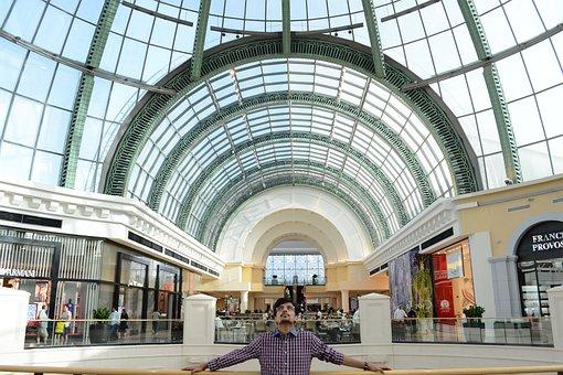Dubai, Mall, Shopping, Architecture, Arab, City, Uae