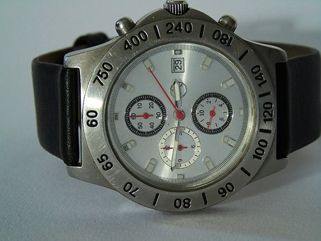 Wrist Watch, Clock, Time, Wrist, Time Indicating, Mens