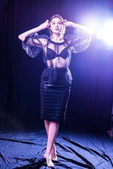 Dress, Reticulum, Shoulder, View, Fascines, Light