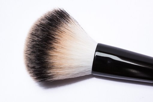 Brush, Cosmetics, Orsten, Hair, Cylinder Shaped