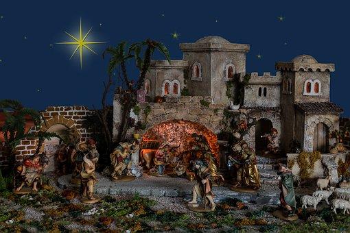 Christmas, Bethlehem, Crib, Jesus Birth, Jesus
