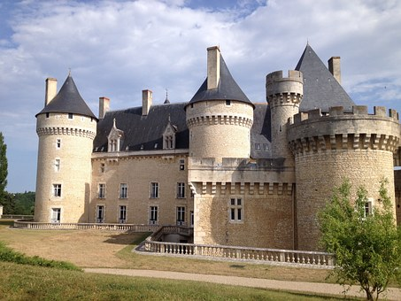 Chateau, Chabenet, Castle, Holiday, Fascination