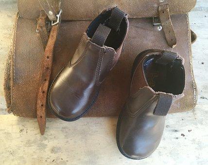 Shoe, Child, Boot, Children, Kid, Nature, Ocean