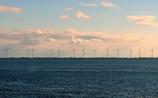 Windräder, Wind Energy, Wind Park, Offshore