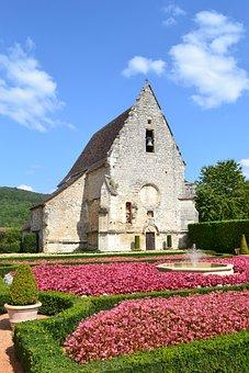 Church, Stone Church, Chateau Des Milandes, Renaissance
