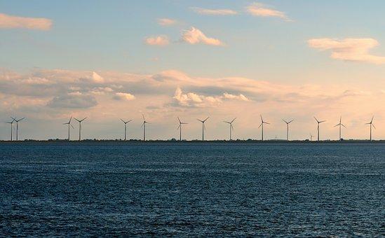 Windräder, Wind Energy, Wind Park, Offshore