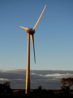 Wind, Wind Power, Energy, Pinwheel, Wind Energy, Sky