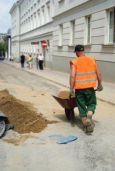 Employee, Worker, Work, Physical, Barrow, People