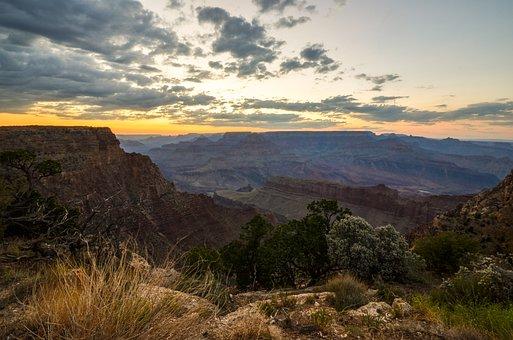 Grand Canyon, Arizona, Usa, Canyon, National Park