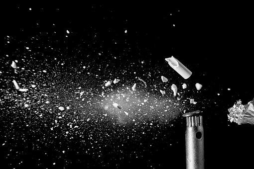 Shot, Explosion, Broken, Bullet, Splitter, Fragmented