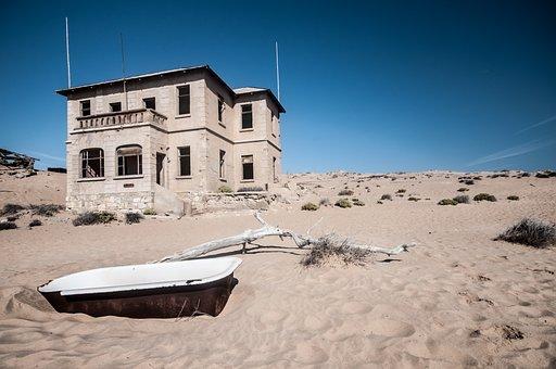 Africa, Namibia, Kolmanskop, Ghost Town, Historically