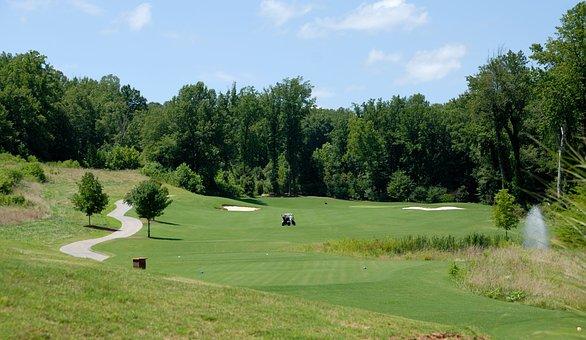 Golf Course, Golf, Sport, Green, Grass, Game