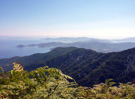 Landscape, Good View, Tuscan Archipelago, Italy