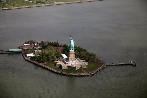 New York, Statue Of Liberty, United States, City
