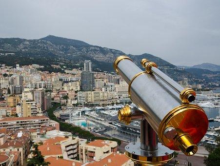 Monaco, Port, Yachts, Mediterranean, Ships, Water, City
