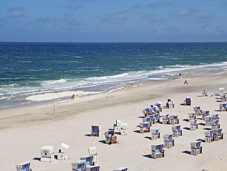 Sylt, Beach, North Sea, Clubs, Beach Life, Summer, Sun