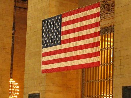 Flag, United States Of America, Usa