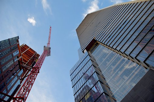 Crane, New York City, City, Construction, New, York
